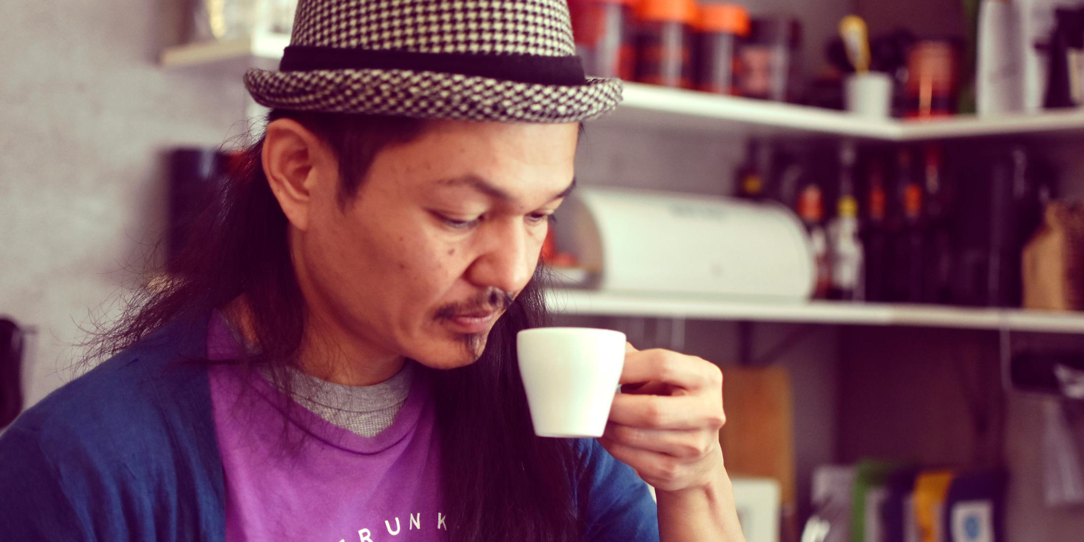 コーヒーに愛を込める。