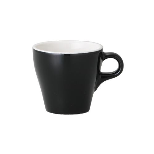 6オンスカプチーノカップ ブラック