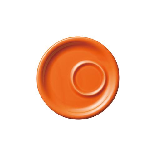 6オンス8オンス兼用トレーソーサー オレンジ