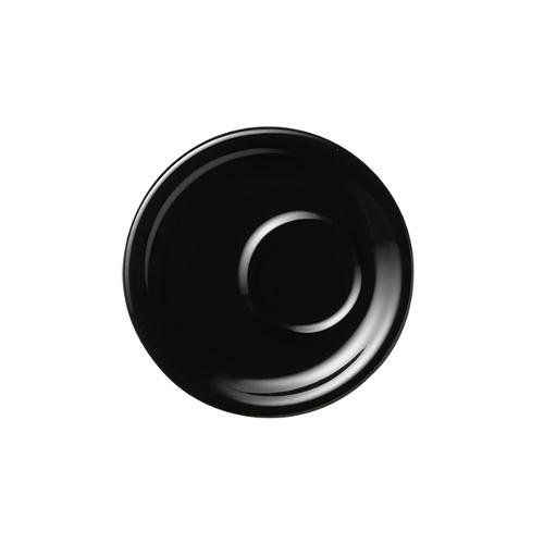 6オンス8オンス兼用トレーソーサー ブラック