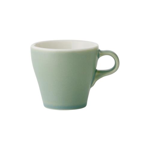 6オンスカプチーノカップ グリーン