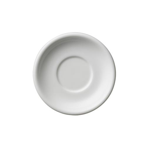 6オンス・8オンス兼用ラテボウルソーサー ホワイト